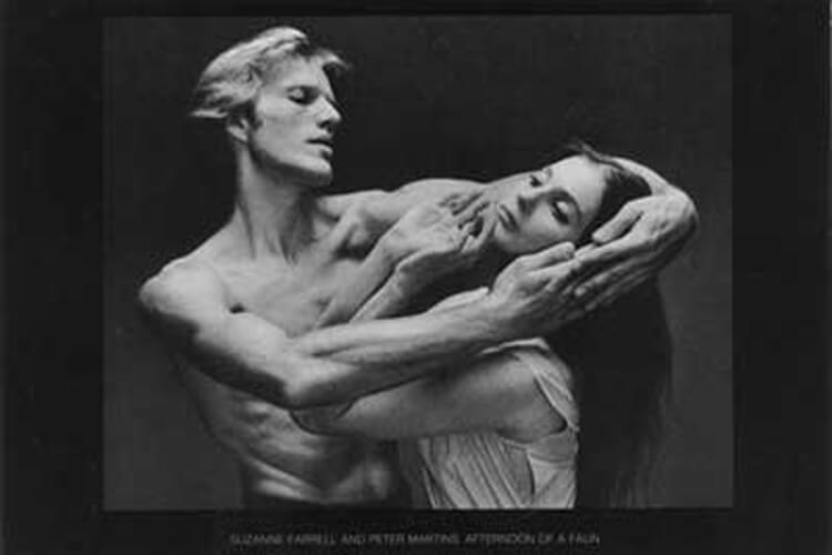 NYC Ballet photo by Max Waldman Afternoon of a Faun Peter Martins and Suzanne Farrell
