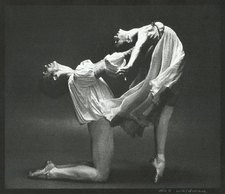 Gelsey Kirkland and Ivan Nagy in Romeo and Juliet photo Max Waldman
