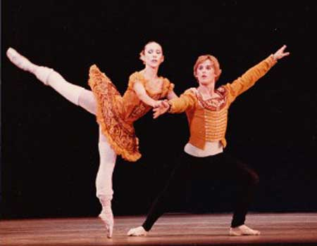 ABT Grand Pas Romantique Marianna Tcherkassky and Danilo Radojevic