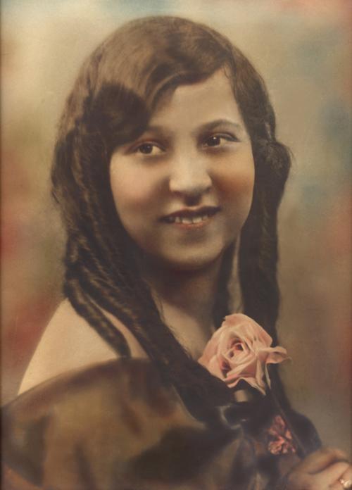 antique photo Henrietta